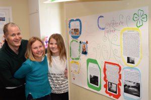 Cornelia Hedlund och Diana Thuring får visa upp sitt arbete de gjort om just Centern