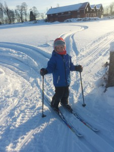 Älgnäs skidor pojke