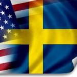 Sverige-USA-flagga